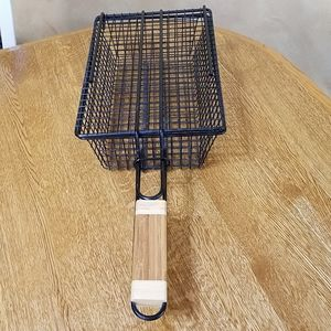 Campfire Basket With Locking Lid